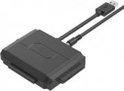 Manhattan IUSB3-ADAPT2 Convertitore da USB 3.0 a IDE + SATA II