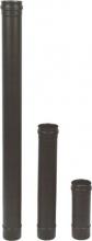 Maral NPED01-080 Tubo per Canna Fumaria in Acciaio Inox 8x100 Nero Pellet 300 - NPED01-80