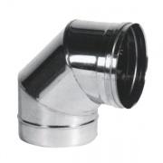 Maral PSCN90 Curva a Gomito per Canne Fumarie Inox Settori 90° 12
