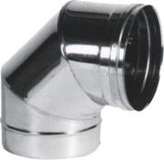 Maral PSCN90 Curva a Gomito per Canne Fumarie Inox Settori 90° 15