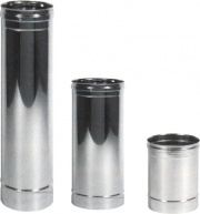 Maral PSED02 Tubo per Canna Fumaria in Acciaio Inox 12x 50