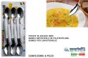 Marietti I200 Cucchiaio confezione 6 pezzi Bianco Tavola Allegra
