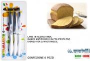 Marietti I201BI Coltello confezione 6 pezzi Bianco Tavola Allegra