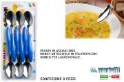 Marietti I201 Cucchiaio confezione 6 pezzi Blu Tavola Allegra