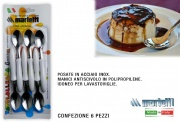 Marietti I230 Cucchiaino confezione 6 pezzi Bianco Tavola Allegra