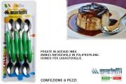 Marietti I231 Cucchiaino confezione 6 pezzi Verde Tavola Allegra