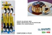 Marietti I23 Cucchiaino confezione 6 pezzi Giallo Tavola Allegra