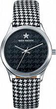 Mark Maddox MC3024-50 Orologio Donna Analogico cassa Acciaio e Cinturino Tessuto MC3024 50