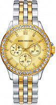 Mark Maddox MM3026-27 Orologio Donna Analogico cassa e Cinturino Acciaio Oro MM3026 27