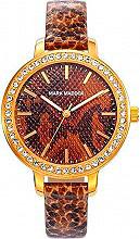 Mark Maddox MC6009-97 Orologio Donna Analogico cassa Acciaio e Cinturino Pelle MC6009 97