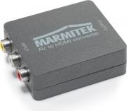 Marmitek 8264 Commutatore Audio Video da RCA ad HDMI 0 Connect AH31