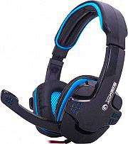 Marvo Cuffie Gaming con Cavo e Microfono Bassi profondi colore Nero H8316 BL