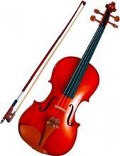 Mavis MV-1414 Violino 34 Concerto antichizzato montatura legno naturale