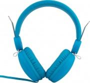 Maxell 303642 Cuffie con Filo e Microfono Cuffia Sovraurale colore Blu