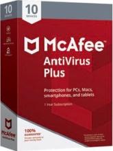 McAfee MAV00INRXRAAM Antivirus Plus 2019 10 Dispositivi 1 anno WindowsMobile