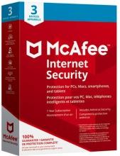 McAfee MIS00INR3RAA Internet Security 3 Dispositivi 1 anno Windows Mac Android
