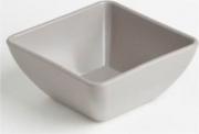 Mc Ristorazione 6333 Contenitore Quadro 22x22xh10 cm Bianco Plastica alimenti