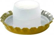 Mchr Y13BA100-Cf.100 Tappo Corona mm 29.0 Sottotappo Alto Pz.100