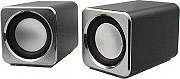 Mediacom M-EM950 Casse PC Audio 2.0 4 Watt Interfaccia speaker 3,5 mm Nero