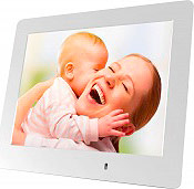 "Mediacom M-PFS8W Cornice Digitale 8"" Digital Photo Frame SD  SDHC PFS8W"