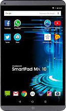 Mediacom M-SP10MXHL SmartPad MX 10 HD Lite Tablet 10.1 Touch 16GB 3G GPS Android