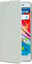Mediacom X520UAFC Cover Custodia Smartphone Phonepad Duo Flip Cover bianco