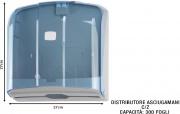 Medial International M908120 Distributore Asciugamani Cz 300 F. Trasparente