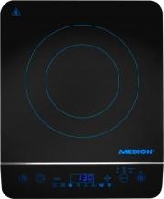Medion 50056031 Fornello Cottura Induzione 1 Piastra Display Touch con Timer MD 17595