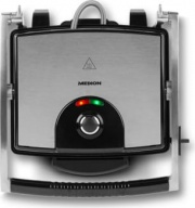 Medion MD16832 Bistecchiera Elettrica Doppia piastra Antiaderente 1800 Watt MD 16832