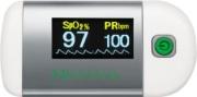 Medisana 79455 Pulsossimetro da Dito Controllo Ossigeno Silver Bianco  PM 100