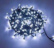 Melchioni Luci Natale LED 96 xmas led Minilucciole Timer Bianco 260090211