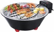 Melchioni BBQ1 Griglia elettrica Barbecue da Tavolo Portatile ø 31cm 118380031