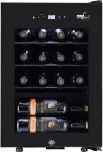 Melchioni VERMENTINO 16 C Cantinetta Vino Frigo 16 Bottiglie Classe G Nero Vermentino 16C
