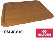 Melform L116811 Vassoio Gold Teak 153 cm 46x36