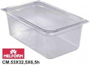 Melform L4111 Vaschetta Diamond Gastronorm 11 h.6.5 cm 53x32.5
