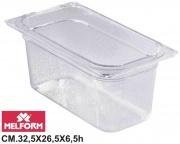Melform L4121 Vaschetta Diamond Gastronorm 12 h.6.5 cm 32.5x26.5