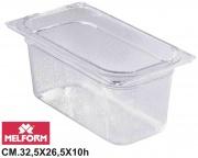 Melform L4122 Vaschetta Diamond Gastronorm 12 h.10 cm 32.5x26.5
