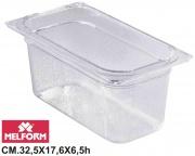 Melform L4131 Vaschetta Diamond Gastronorm 13 h.6.5 cm 32.5x17.6