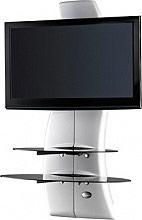 """Meliconi Mobile Tv Televisori 32""""63"""" Max 30Kg GHOST DESIGN 2000 ROTATION 488087"""