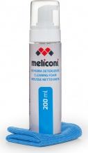 Meliconi 621013 Kit pulizia schermo TV Deteregnte 200ml Panno in microfibra C-200 FOAM