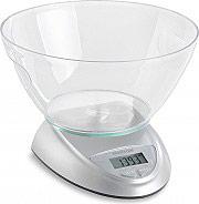 Meliconi 655100 Bilancia Cucina Digitale Elettronica Max 5 kg colore Argento 656100