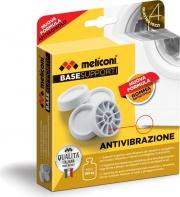 Meliconi 656102 Base Supporti Antivibrazione per Lavatrice