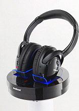 Meliconi HP300 Cuffie TV Wireless wifi senza fili colore Nero