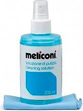 Meliconi melc200 Soluzione Ml con Panno Microfibre per Pulizia Schermi LCD C200