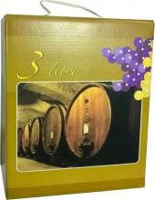 Meola Enologia BLGHU1775 Cartone Colorato con Manico per Sacca Bag lt 3 Pezzi 15
