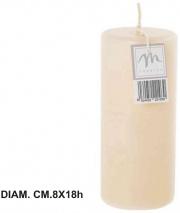 Mercury R21030 Candela Pillar Opaca cm 8x18h Avorio