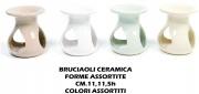Mercury R30381 Brucia Oli Fragrance Ceramica cm 11x11.5h Colori Assortiti