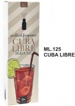 Mercury R30784 Diffusore Fragranze Con Bastoncino ml 125 Cuba Libre
