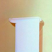 Metaform 110 285 002 Porta Asciugamani bagno Parete Porta salviette L 30 cm Bianco