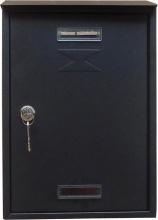 MetalPlus 31401C Cassetta Postale Antracite mm 220x330x70 Pezzi 6